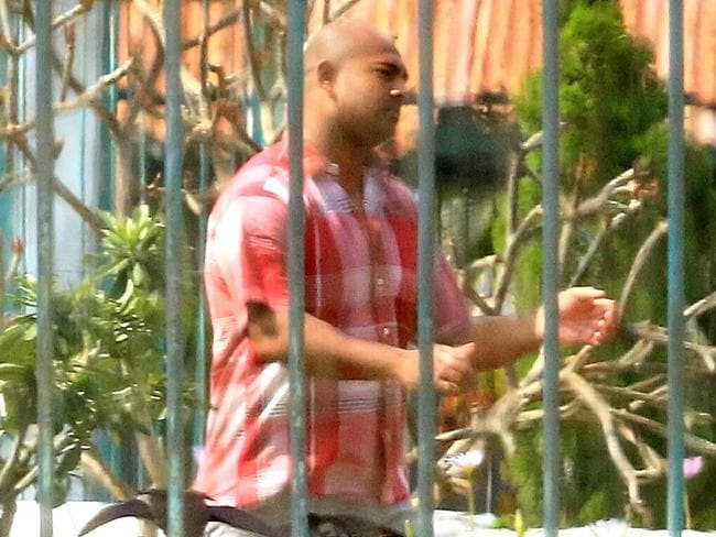 Death row ... Bali Nine member Myuran Sukumaran inside Kerobokan Jail. Picture: Adam Taylor.