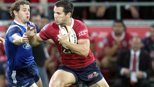 Clinton Schifcofske made a successful transition from rugby league to rugby union with the Reds.