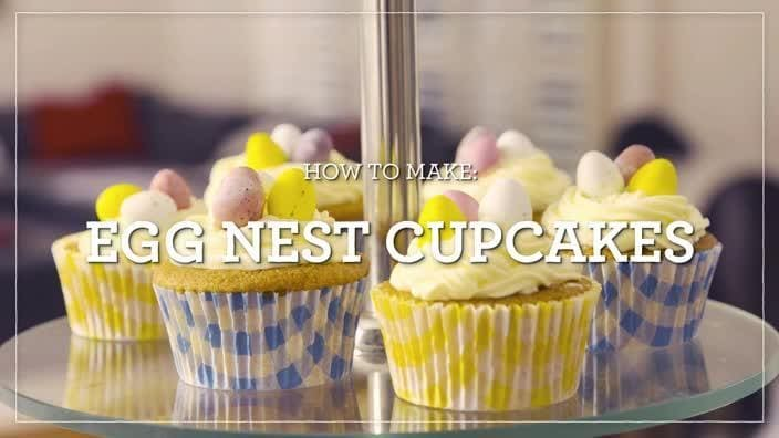 Free school holiday activities in melbourne 2017 kidspot how to make easter nest cupcakes002351 negle Image collections
