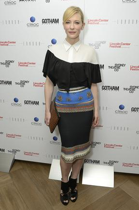 Cate Blanchett attends the Gotham Magazine Celebration at The London Hotel on July 25, 2012 in New York City. Picture: Getty