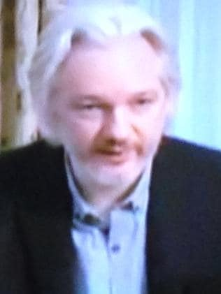 After two years of being detained inside ... Wikileaks founder Julian Assange. Picture: Supplied