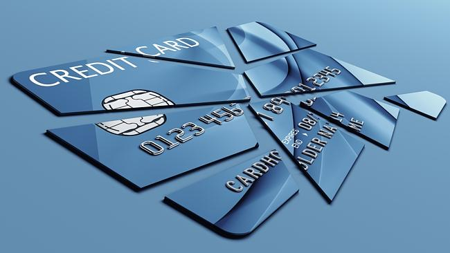 Could you cut up your credit card?