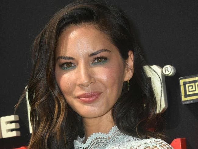 Actress Olivia Munn says Brett Ratner masturbated in front of her. Picture: AFP