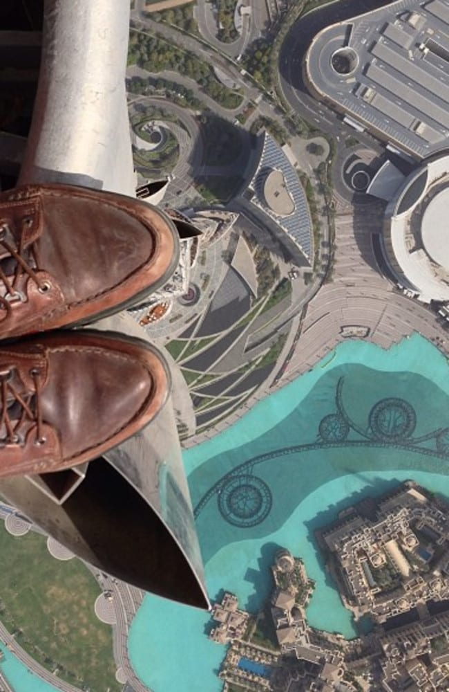Famed National Geographic photographer Joe McNally managed to snap the mother of all rooftopping photos. The Instagram snap was captured from the tip of the Burj Khalifa, the tallest man-made structure in the world.