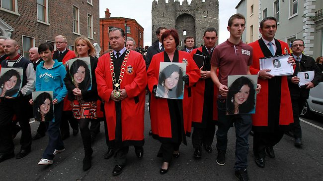 Jill Meagher memorial in Ireland