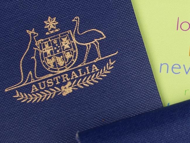Australian passports, travel, tourist, map, generic.
