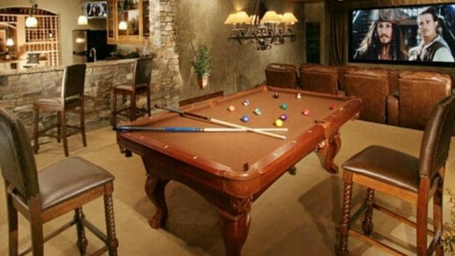 Man cave inspiration. Picture: Roger Sciberras on Pinterest
