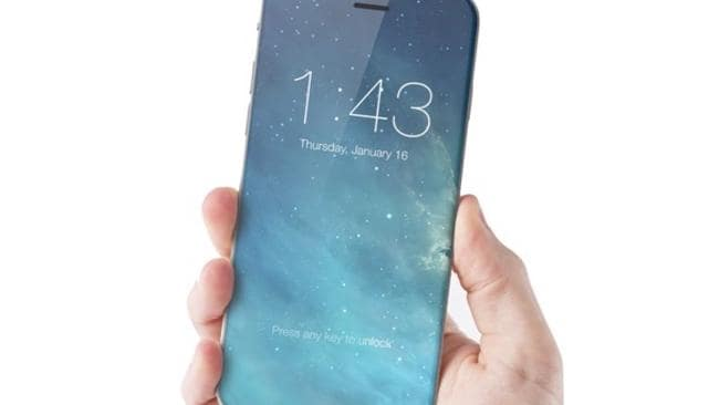 Earlier Apple patents suggest the phone may also feature edges that are somewhat curved. Image credit: iDrop News