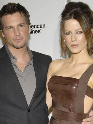 Split ... director Len Wiseman, left, and actress Kate Beckinsale. Picture: AP