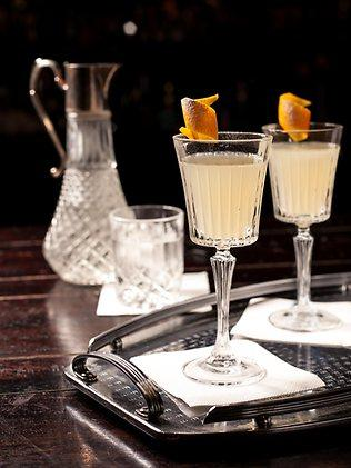 The Gatsby 75 is just one of the cocktails inspired by The Great Gatsby to be served at Eau De Vie bar in Darlinghurst.