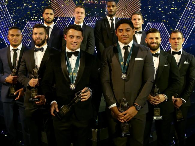 The 2016 Team of the Year.