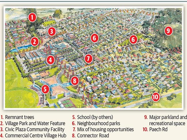A new $650 million development is planned for Mount Barker.