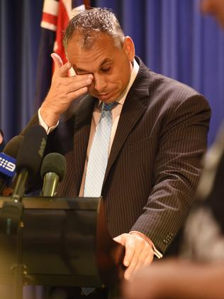 NT Chief Minister Adam Giles faces questions about the alleged abuses.