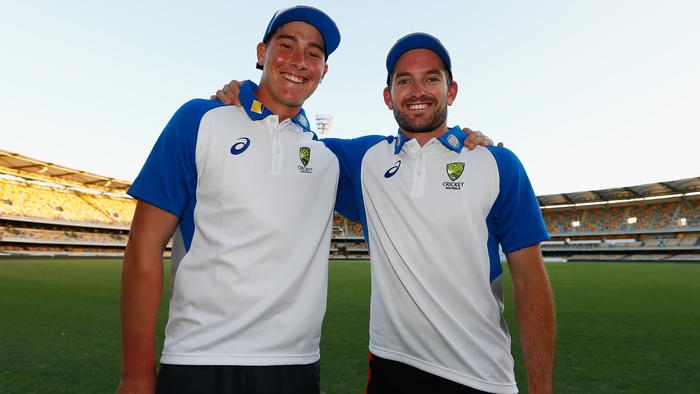 Test call-ups Matt Renshaw and Chadd Sayers.