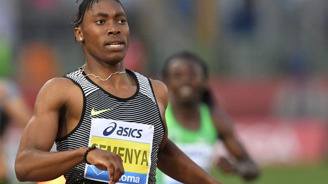 Semenya has been a divisive figure in athletics for years. Photo: AFP