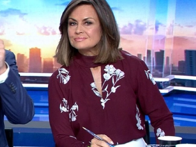 Lisa Wilkinson was called out for wearing this blouse three times in four months because... Well, nobody quite knows why. Photo: Nine