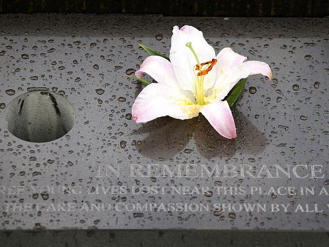This plaque at the site remembers the those who died in the tragedy. Picture: Norm Oorlof