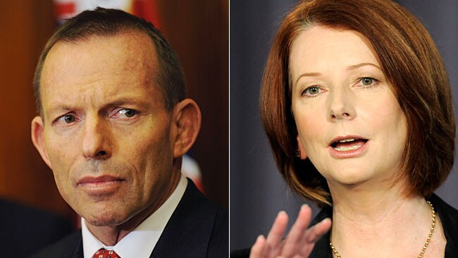 Tony Abbott will eye off Julia Gillard with an election likely to be called for August 21.