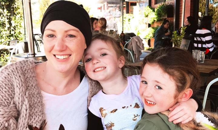 'How losing my hair affected my daughters'