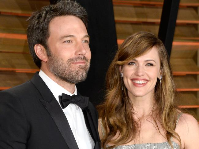 In happier times ... Ben Affleck and Jennifer Garner. Picture: Supplied.