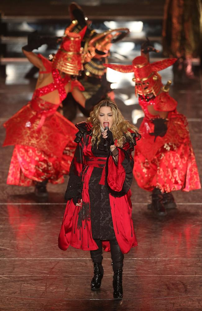 Madonna proves she's still the ultimate performer at Melbourne's Rod Laver Arena.