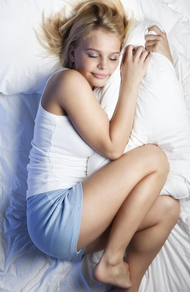 Waking up in the foetal position might be doing you a disservice for the rest of the day. Picture: iStock.
