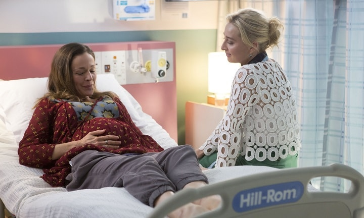Australia's hearts cracked open watching Offspring's stillbirth episode