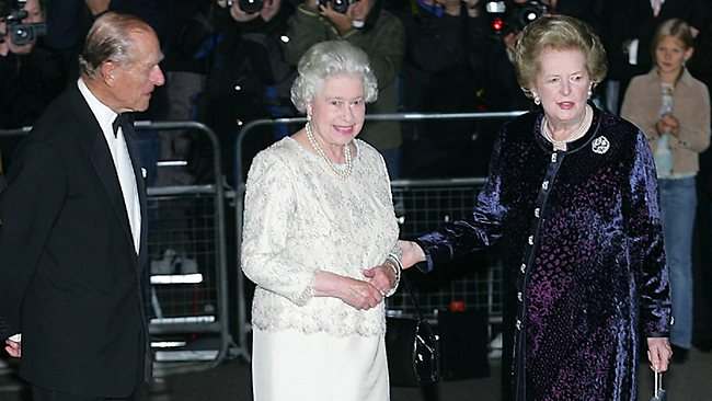 With Queen Elizabeth II set to attend Margaret Thatcher's funeral there are concerns about security given the celebrations over the former prime minister's death.