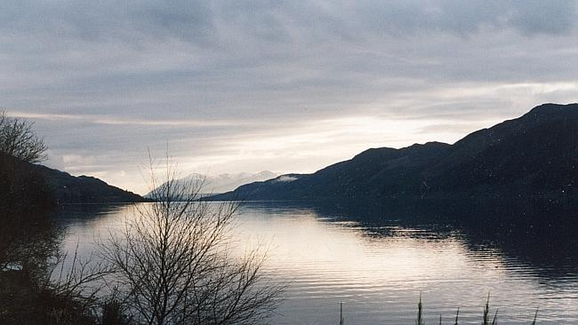 It's just a lake without a monster: Loch Ness.