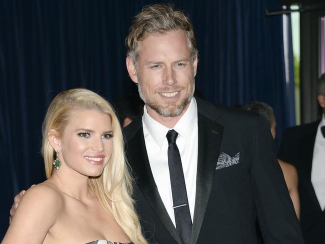 Second time around ... Jessica Simpson and Eric Johnson got married on July 4.