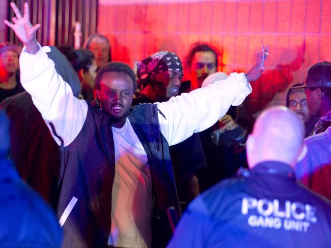 Protests ... Unrest broke out in a Salt Lake City neighborhood on Saturday night after what appears to be a shooting involving a police officer. Picture: AP.