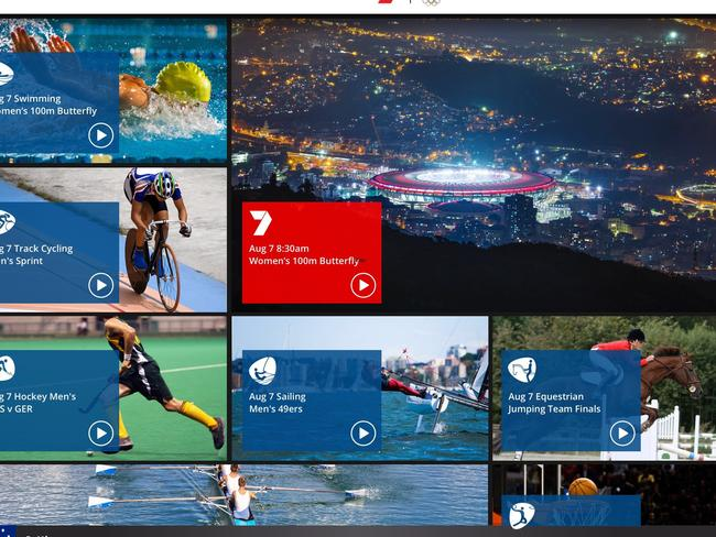 The 7 Olympics App has become a victim of its own success.