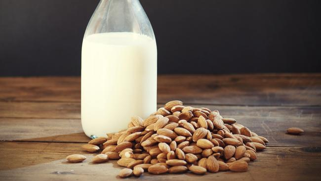 Almond milk can have surprisingly few almonds.