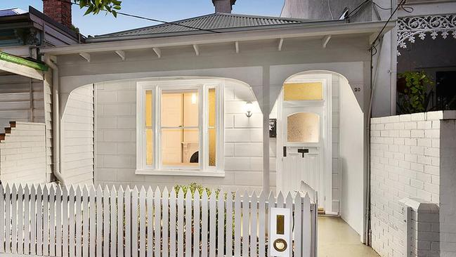20 Lyell St, South Melbourne sold for $1.6 million earlier this year.