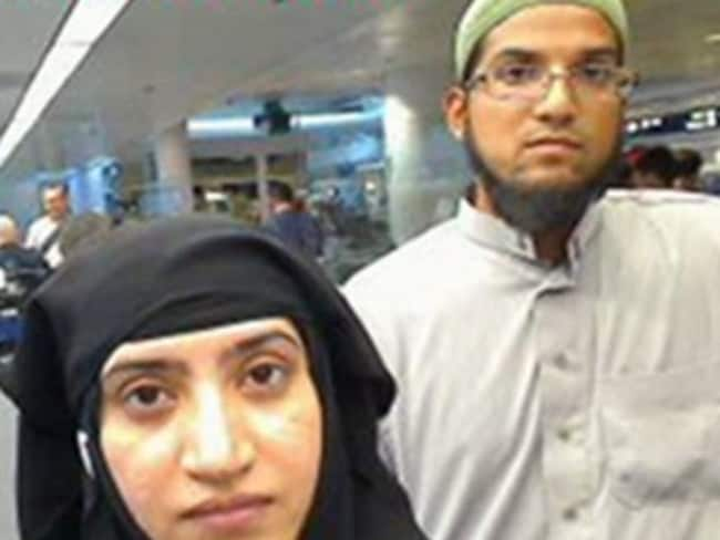 Syed Rizwan Farook and his wife Tashfeen Malik were responsible for the San Bernardino shootings. Picture: Supplied
