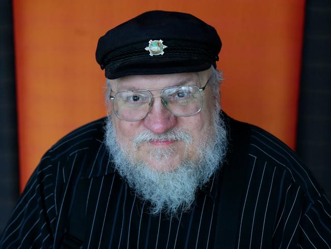 George. R.R. Martin is author and creator of Game of Thrones. Picture: Cameron Richardson