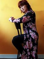 <p>The singer was diagnosed with MS in 1998 and would appear on stage with a cane. She revealed her battle with MS in 2007, and in 2011 announced she was also fighting breast cancer.</p>  <p>Amphlett speaks to the press about her role in stage show The Boy from Oz. Picture: Pip Blackwood</p>