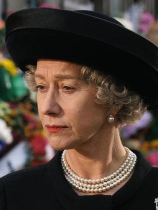 Helen Mirren as the Queen.