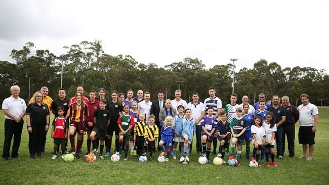 The Sydney Hills Football Association held a launch day for its clubs and members at Fred Caterson Reserve on Saturday, November 28.
