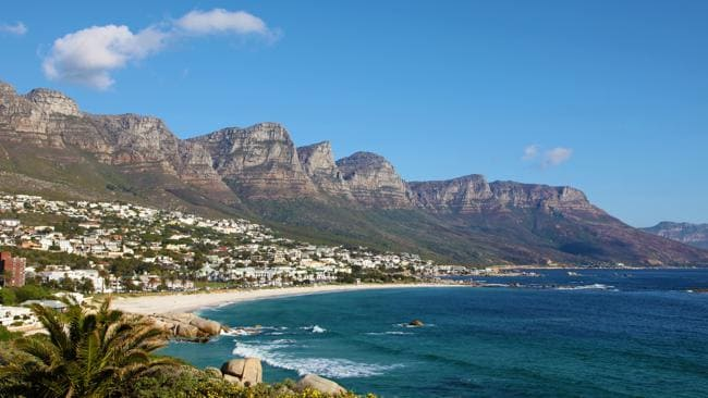 The Capetown coast in South Africa. Picture: Supplied