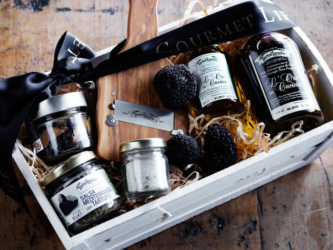 The store specialises in caviar, truffles and rare mushrooms.