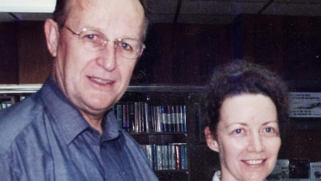 This undated photo provided by John Short's family, shows Australian missionary John Short and his wife Karen, in Hong Kong. Picture: AP