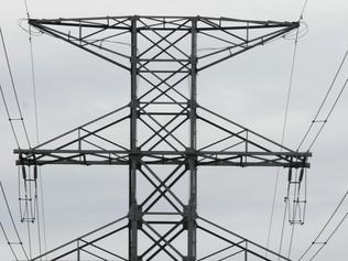 Generic photo of power lines