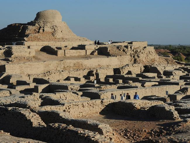 Archaeologists believe the ruins could unlock the secrets of the Indus Valley people, who flourished around 3,000 BC in what is now India and Pakistan before mysteriously disappearing. Picture: Asif Hassan