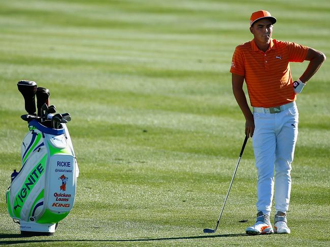 Rickie fowler went to a playoff against hideki matsuyama at the