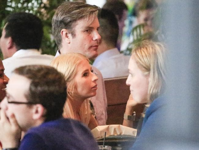 MAFS couple Troy and Ashley enjoy a meal together at Barangaroo. Photo by Salty Dingo