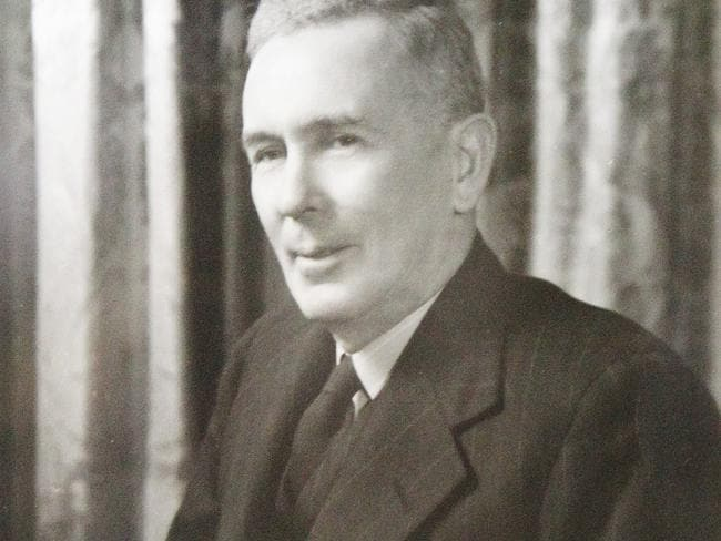 Never checked out: former Australian Prime Minister Ben Chifley