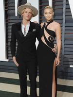 Cody Simpson and Gigi Hadid got back together this year but sadly it looks like their busy schedules took a toll on the relationship when they announced it was off again in May. Picture: Jon Kopaloff/FilmMagic