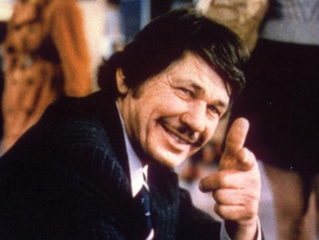 Inspiration ... the other Charles Bronson in a scene from the 1974 film Death Wish.