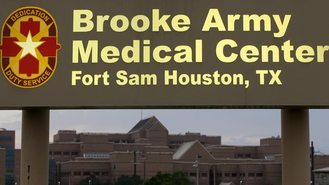 Being treated ... Brooke Army Medical Center, where Sgt. Bowe Bergdahl has been taken after recovering in Germany.